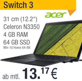 Acer Switch 3 leasen