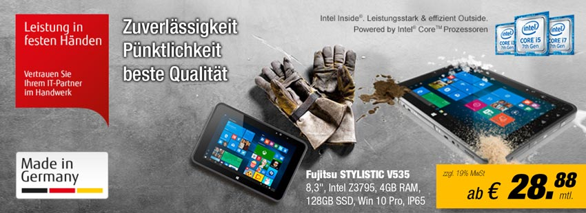 Fujitsu STYLISTIC V535 leasen bei Leasing-it-technik