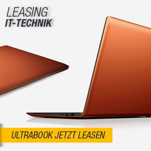 Ultrabook Leasing - Kombination aus Notebook und Tablet